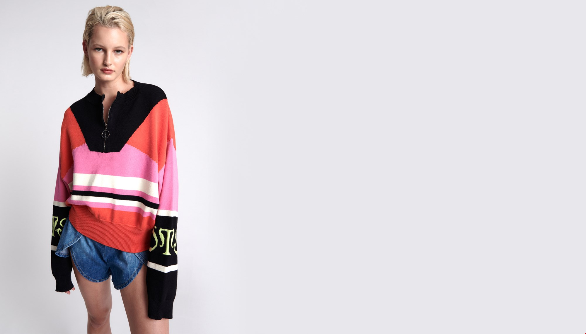 OTS RED REACTIVE SWEATER