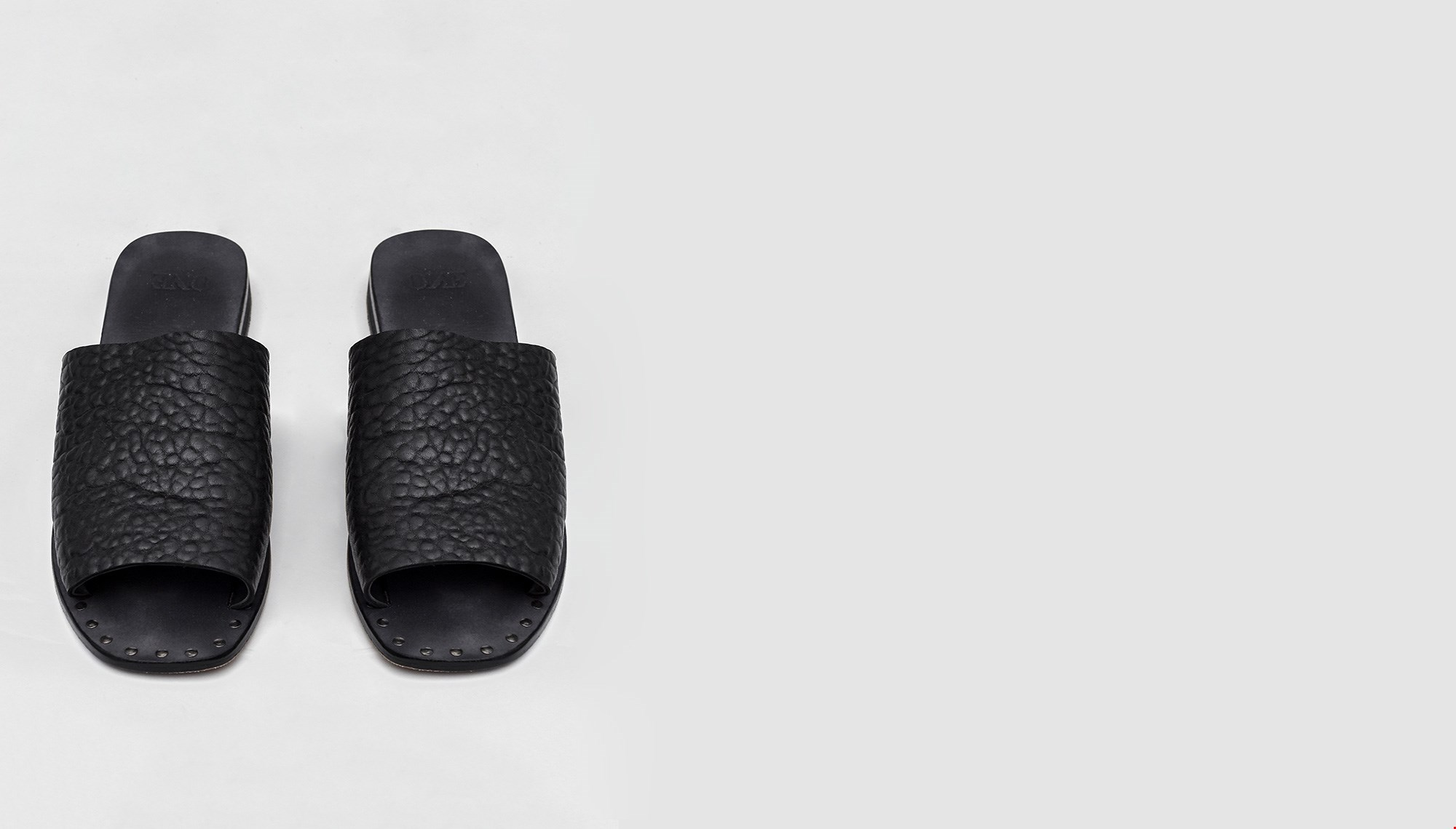 SUPERIOR LEATHER SLIDES
